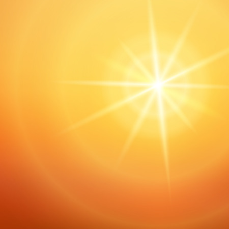 Summer background with white yellow rays summer sun light burst. Hot with space for your message.
