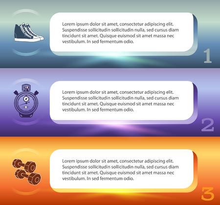 Gesunde Lebensweise Und Bio-Lebensmittel-Icons über Hintergrund Auf ...
