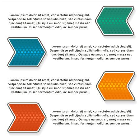 Design-Business-Präsentation Vorlage. Vektor-Illustration Für ...