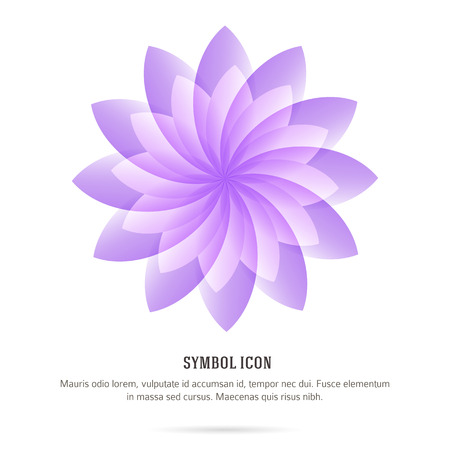 health resort: Abstract Flower Background. Element for design price tag or business card for spa, health, boutique, beauty salon, cosmetician, shop, yoga class, hotel and resort. Vector illustration Illustration