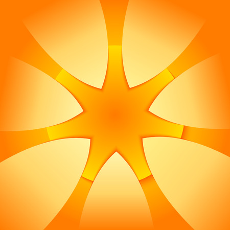 ray of light: Summer background with yellow ray orange summer sun light burst. Hot with space for your message.