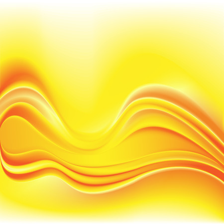 oil crops: Fashion orange & yellow background of bright glowing perspective with wave lines. Gorgeous graphic image template. Abstract image for backdrop business card or banners natural oil or juice