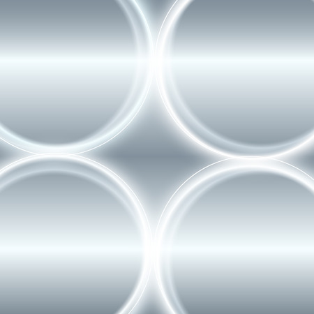 phosphorescence: Abstract Silver background.  Design element monochromatic circle optical illusion with space place for your text. Illustration