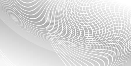 umschwung: Visitenkarte leere Vorlage. Stil Hintergrund mit einem eleganten grafischen L�fterumkehr Gro� gekr�mmten Linien Schnittrechtecke. Vektor-Illustration. Modernes Design-Layout-Seite, horizontal banner