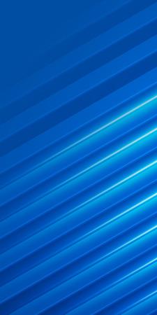 flyer layout: Blue background advertising brochure design elements. Glowing light stripe oblique graphic form for elegant flyer. Vector illustration for booklet layout, sea theme leaflet, newsletters