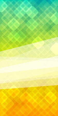 newsletter: Advertisement flyer design elements. Mesh yellow green gradient background with elegant graphic mosaic bright light. Vector illustration for template brochure, layout leaflet, newsletters