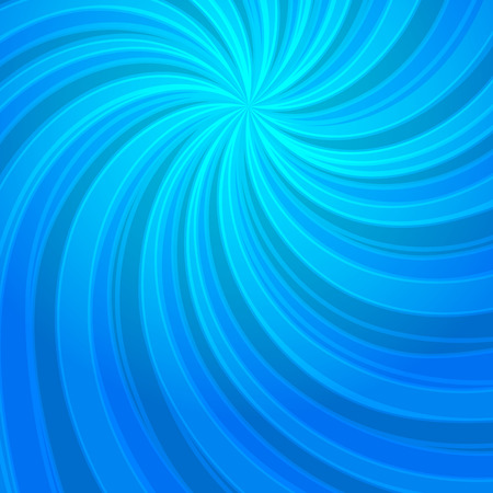 Abstract spiral background of bright glow perspective with lighting blue twist lines. Vector Illustration. Can be used for business brochure, flyer party, design banners, cover book, label Illustration