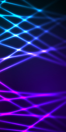 page layout: Abstract background advertising brochure design elements. Futuristic style glow neon disco club, night party for elegant flyer. Vector illustration  for layout page newsletters, vertical banner