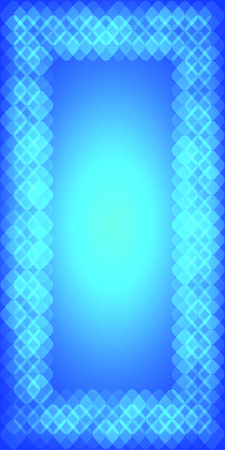 rounded squares: Abstract blue geometric background with blue rounded squares. Design elements Vector illustration  for booklet layout page, leaflet template, vertical banner