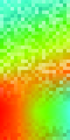 northern light: Blur rainbow gradient background of bright perspective with lighting glowing square. Graphic image template. Abstract vector Illustration   for your business brochure Illustration