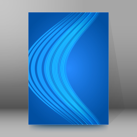 affiche: Abstract background advertising brochure design elements.