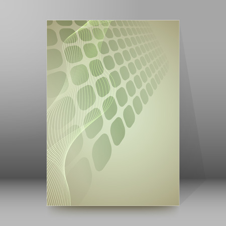 periodical: Abstract background advertising brochure design elements.