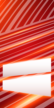 intersect: Blur light glow oblique stripes lines intersect gradient red background with space place for your text.