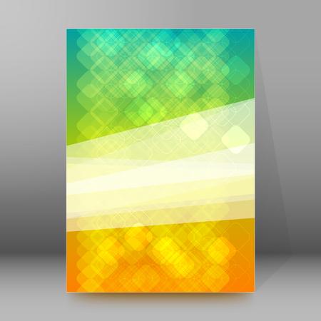 newsletter: Advertisement flyer design elements.  Illustration