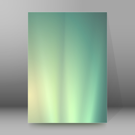 northern light: Blur light glow gradient background with space place for your text. Graphic image template. Abstract vector Illustration eps 10 for your business brochure