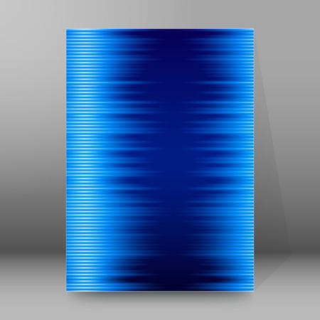 frash: Advertisement flyer design elements. Blue gradient background with elegant graphic lines bright light. Vector illustration for template brochure, layout leaflet, newsletters