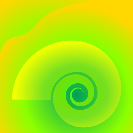 Abstract spiral background of bright glow perspective with lighting twist lines.   Illustration