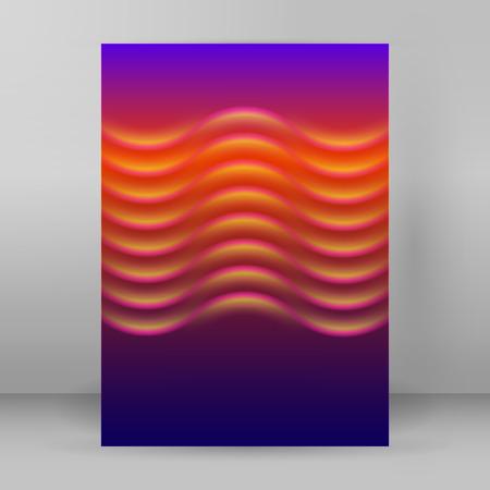 dancefloor: Advertisement flyer design elements. Modern style Design website banners background page. Vector illustration Illustration