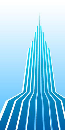 upward movements: Design elements business presentation template. Vector illustration vertical web banners background, backdrop glow light effect . Illustration