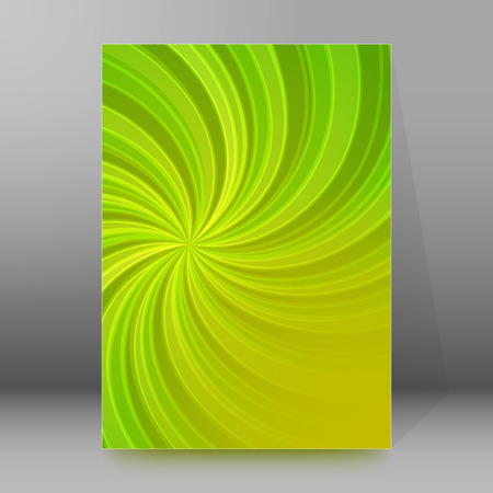agro: Abstract spiral background of bright glow perspective with lighting green twist lines. Can be used for business brochure, flyer party, design banners, cover book, label