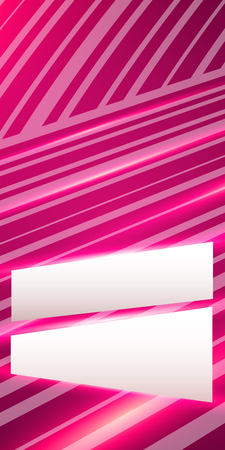 intersect: Blur light glow oblique stripes lines intersect gradient pink background with space place for your text. Graphic image template. Abstract Illustration for your business brochure Illustration