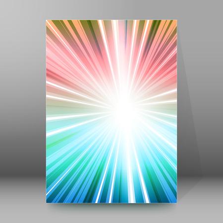Design elements business presentation template. Vector illustration vertical web banners background, backdrop glow light effect . Illustration