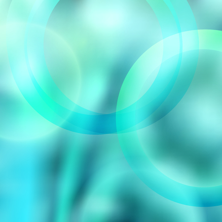 Blurred blue glowing background with rays lines light with space for your message.
