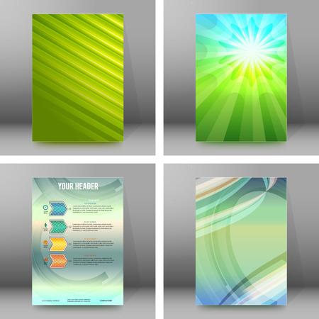 erect: Design elements presentation template.
