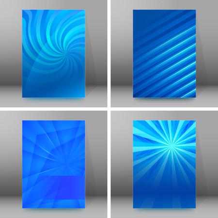 nebulous: Design elements presentation template.