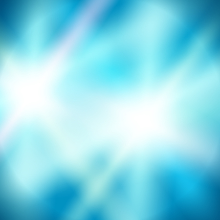 Blur blue gradient background of bright glow perspective with lighting circles with space place for your text.