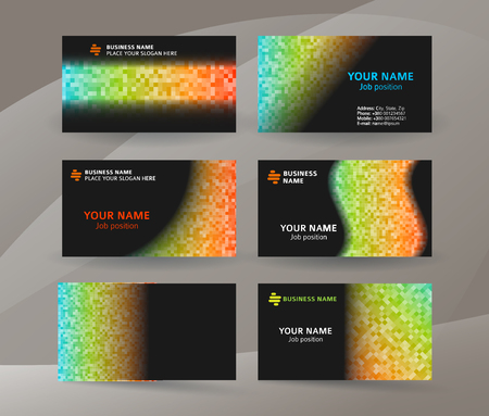 Abstract professional and designer business card template or abstract professional and designer business card template or clear minimal visiting card set name cheaphphosting