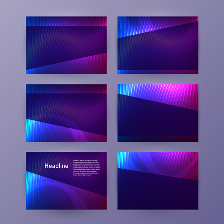 Business templates for multipurpose presentation slides.
