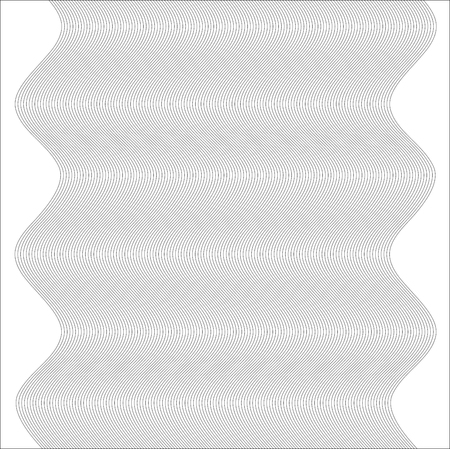 context: Design elements. Wave of many gray lines. Abstract wavy stripes on white background isolated. Creative line art. Vector illustration EPS 10. Colourful shiny waves with lines created using Blend Tool.