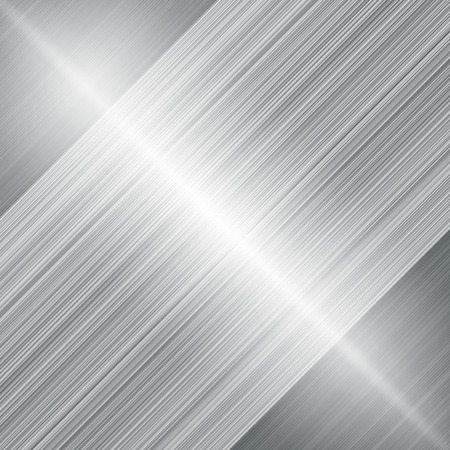 Modern metalic grey background of bright glowing perspective. Gorgeous graphic image template. Abstract vector Illustration for your business brochure colors silver, steel Vetores