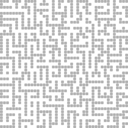 Abstract vector background design with maze mosaic texture and place for your text isolated. Good cover for book on psychology, creative problem solving, logical thinking, study of human relations Illustration