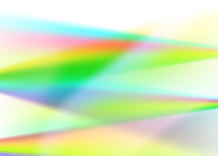 Blur rainbow gradient background Fractal rendition of multiple colored curves lines with space place for text. Graphic image template. Abstract vector Illustration eps 10 for your business brochure