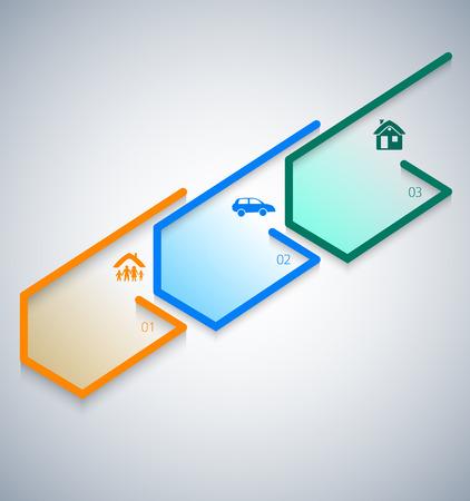현대 디자인 스타일 infographic 템플릿입니다. 다른 종류의 보험의 그림입니다. infographics 및 인쇄술, 차트 프로세스 보험 회사, 비즈니스 서비스 단계 옵션에 사용할 수 있습니다