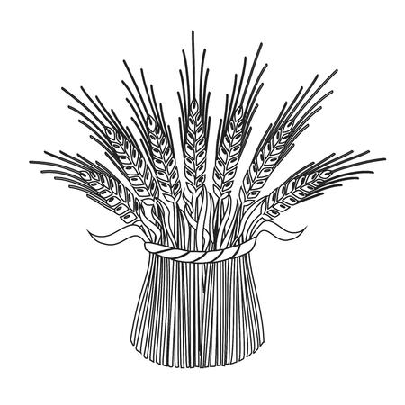 Design elements symbol for agriculture