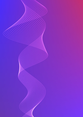 Blur rainbow gradient background of fantasy multiple colored with space place for your text. Graphic image template. Abstract vector Illustration for your business brochure.