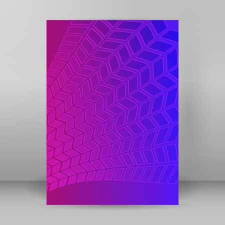Templates for multipurpose presentation. Editable vector Design layout for brochure advertising with blurred effect on purple blue background event party, business card, web site element