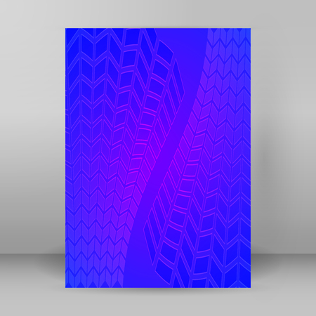 Templates for multipurpose presentation. Editable vector Design EPS 10 layout for brochure advertising with blurred effect on purple blue background event party flyer, business card, web site element