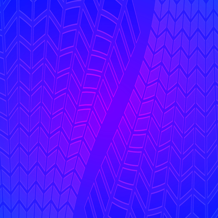 Modern geometrical blue background of bright glowing perspective with squares, rectangle form. Graphic image template. Abstract vector illustration EPS 10 for backdrop business card, banners techno Illustration