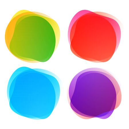 Abstract blur shapes color gradient iridescent colors effect soft transition, texture for background presentation theme children products