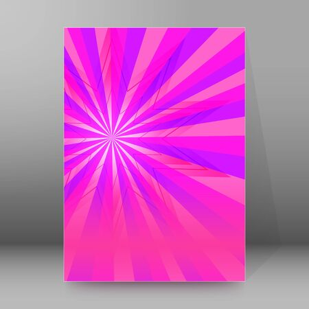 Abstract spiral background of bright glow perspective with lighting blue, purple, yellow, green twist lines. Can be used for business brochure, flyer party, design banners, cover book, label Imagens - 133530509