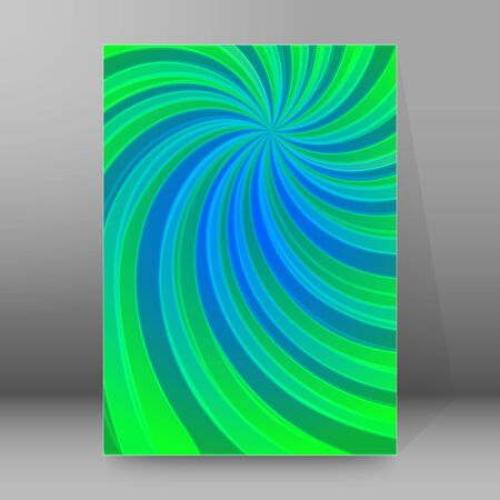 Abstract spiral background of bright glow perspective with lighting blue, purple, yellow, green twist lines. Can be used for business brochure, flyer party, design banners, cover book, label Imagens - 133530676