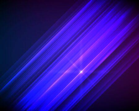 Templates for multipurpose presentation. Design brochure advertising, blurred effect on purple blue background event party flyer, business card, website element Illusztráció