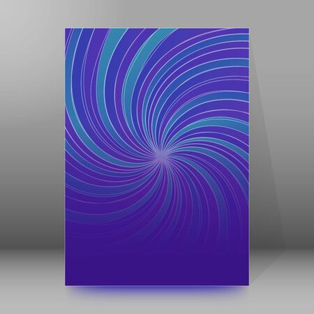 Abstract spiral background of bright glow perspective with lighting blue, purple, yellow, green twist lines. Imagens - 134928612