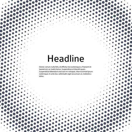 Design elements symbol Editable icon Halftone dot pattern on white background. Vecteurs
