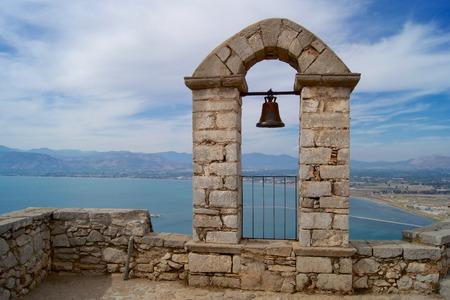 nafplio: Nafplio, view from the castle of Palamidi