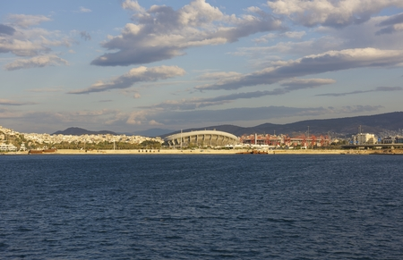 City of Athens, view from the sea photo
